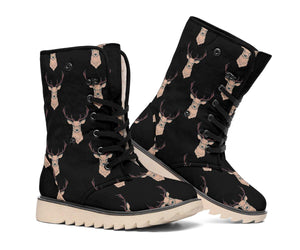 Deer Black Polar Boots