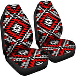 Red Diamondback Set of 2 Car Seat Covers