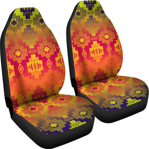 Seven Tribes Purple Horizon Car Seat Covers