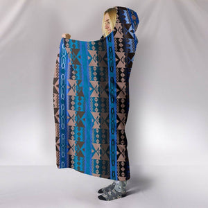 Blue Lodge Hooded Blanket