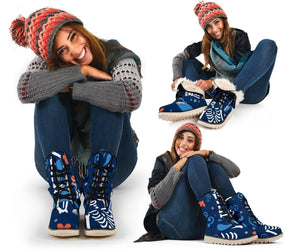 Winter Bones Blue Polar Boots