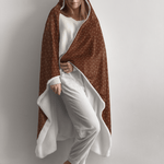 JASPER PREMIUM HOODED BLANKET with WRIST STRAPS