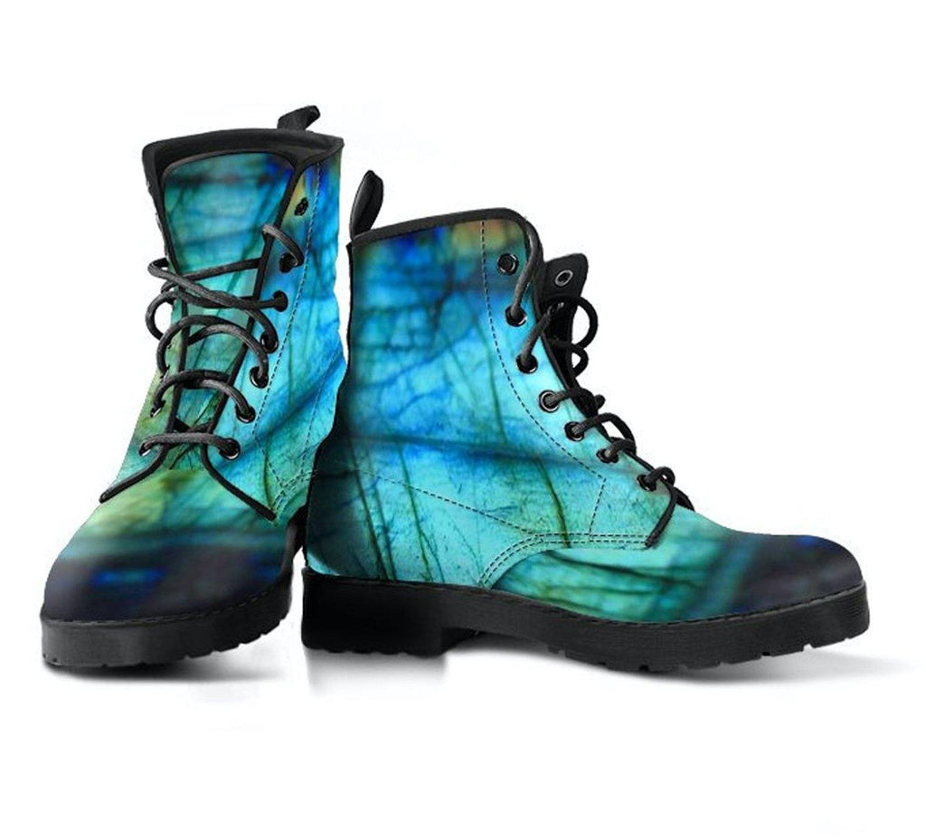 Labradorite Vegan Leather Boots