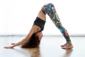 HOLOGRAPHIC PRINT PREMIUM YOGA LEGGINGS