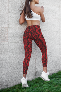 Moody Rose Premium Yoga Leggings