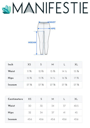 MUSIC IS LIFE PREMIUM MESH POCKET YOGA LEGGINGS