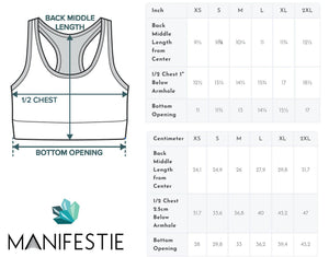 Amethyst Sacred Connections Sports Bra - Manifestie