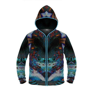 THIRD EYE by David Fettner LIGHT UP HOODIE