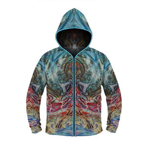 SENSORY INPUT by David Fettner LIGHT UP HOODIE