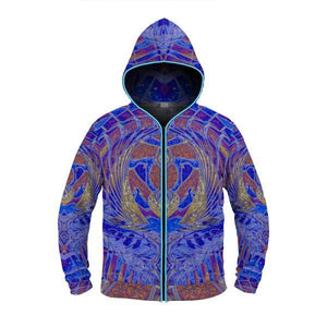 TEMPLE OF ANUBIS by David Fettner LIGHT UP HOODIE