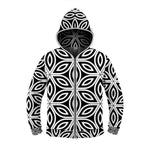 Flower of Life Light Up Hoodie