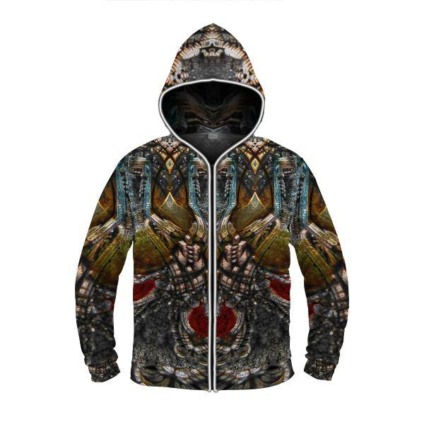 PHARAOHS DREAM by David Fettner LIGHT UP HOODIE