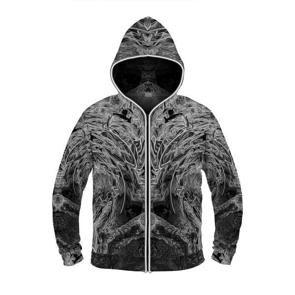 SHADOW by David Fettner LIGHT UP HOODIE