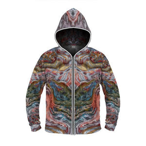 BLUE DREAM by David Fettner LIGHT UP HOODIE