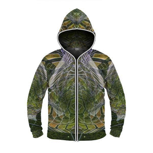 COSMIC SLITHER by David Fettner LIGHT UP HOODIE