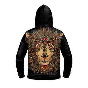 ZION LION LIGHT UP HOODIE