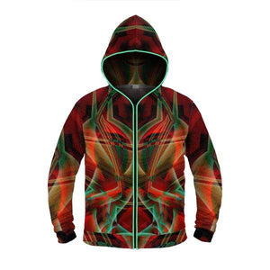 LOVERS GAZE by David Fettner  LIGHT UP HOODIE