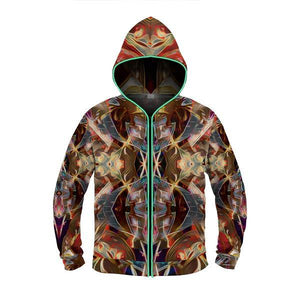 ASTRAL TRIP by David Fettner LIGHT UP HOODIE