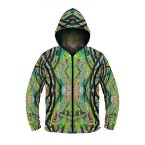 PATH FINDER by DAVID FETTNER ZIP UP HOODIE