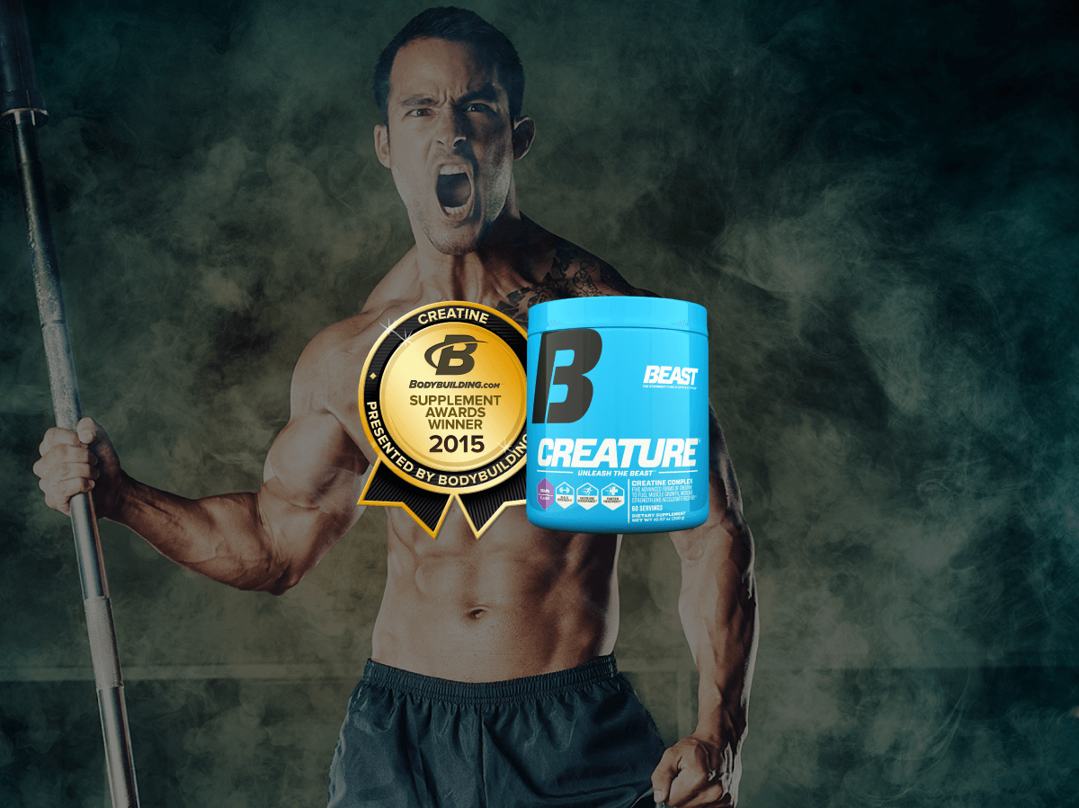 Beast Creature Creatine Wins Supplement Of The Year 2015 - Beast Sports Nutrition