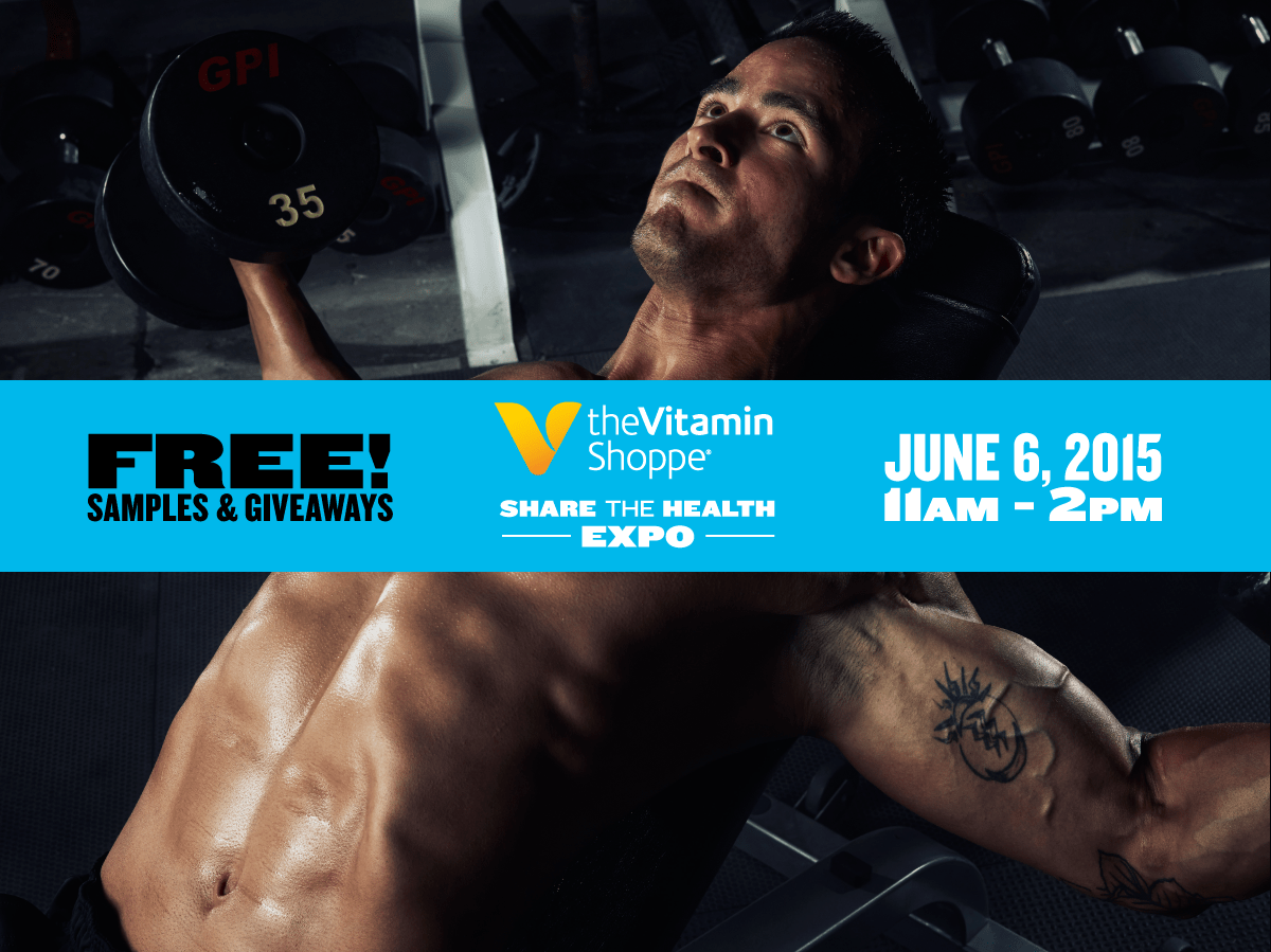 Share The Health Expo With Beast Sports At The Vitamin Shoppe On June 6, 2015
