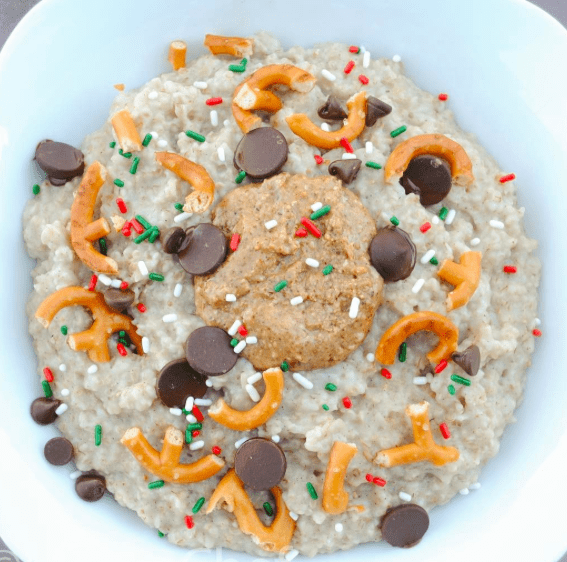 Pretzel Chocolate Chip Protein Oatmeal