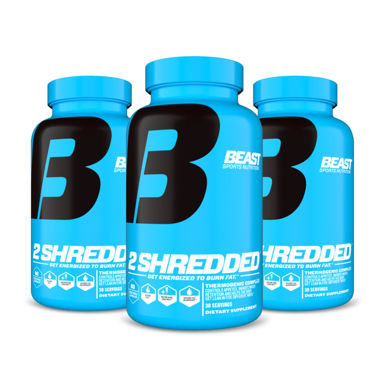 2SHREDDED®3 PACK