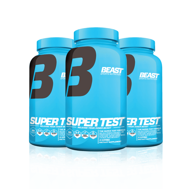 SUPER TEST® 3 Pack - Beast Sports Nutrition