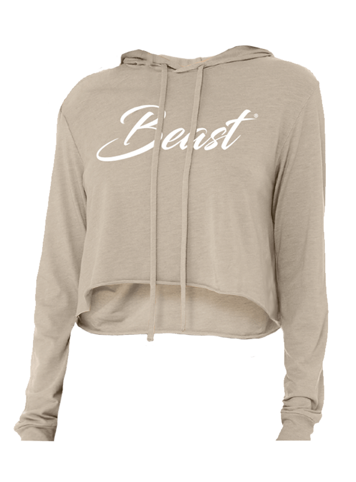BEAST Women's Cropped Hoodie - Beast Sports Nutrition