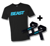 Men's Classic Beast Tee + Lifting Straps
