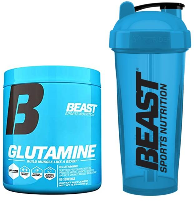 GLUTAMINE + SHAKER - Beast Sports Nutrition