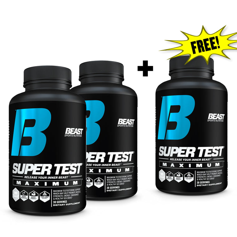 SUPER TEST® MAXIMUM BUY 2 GET 1 FREE