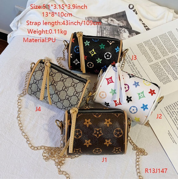 LV kid purses