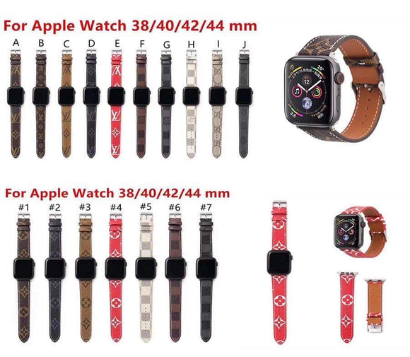 LV Apple Watch Bands