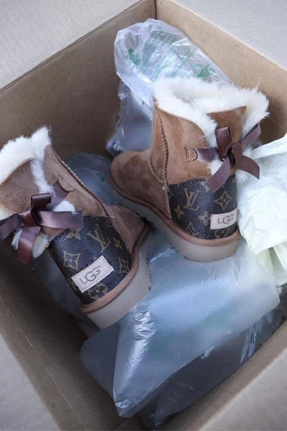 Adult LV ugg boots