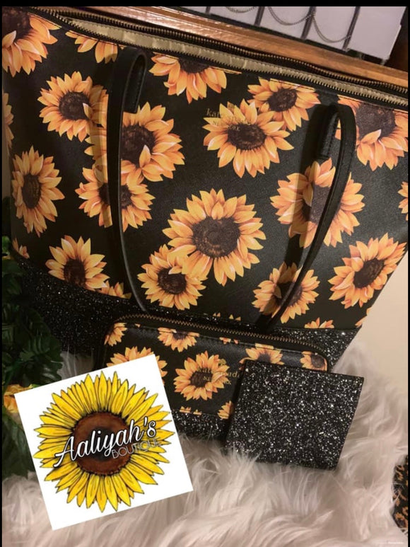 Sunflower Kate spade tote