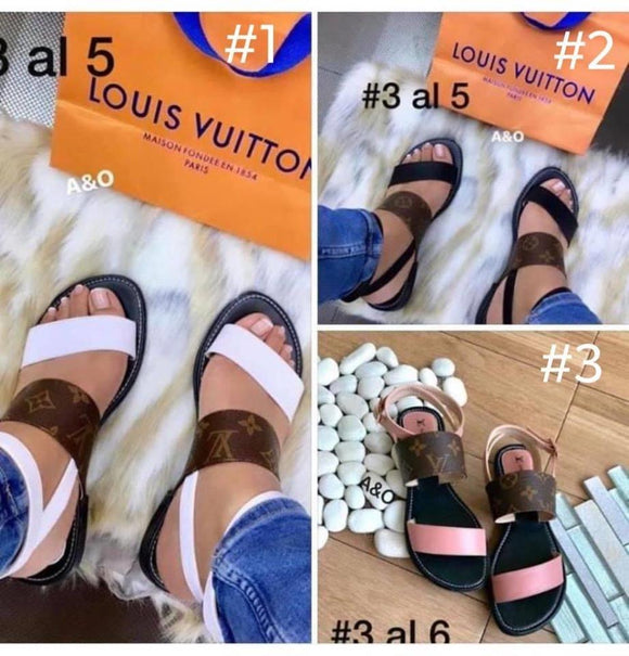 double strap sandals RTS