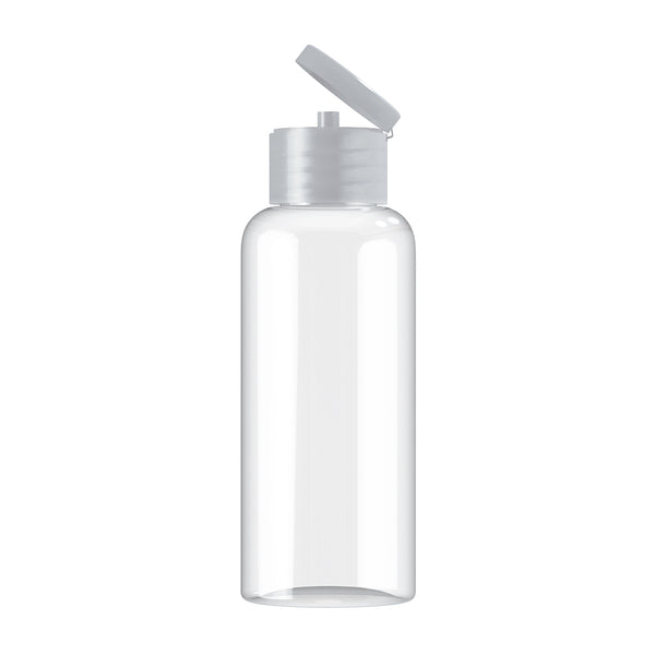 Plastic 100ml Flip Cap Bottle (Crate of 2500)
