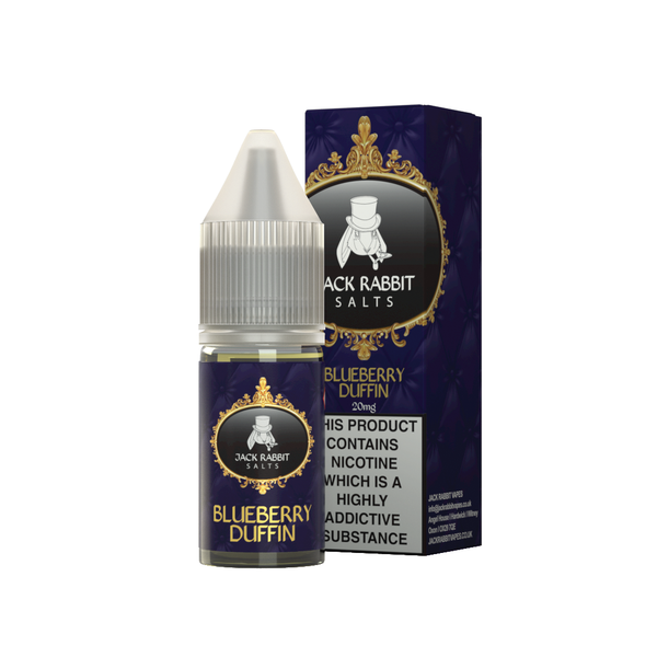 Jack Rabbit Blueberry Duffin Nicotine Salt E Liquid