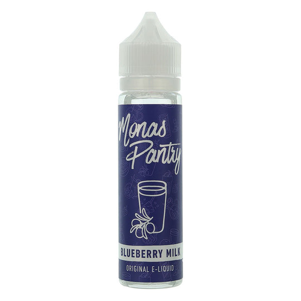 Monas Pantry Blueberry Milk E Liquid