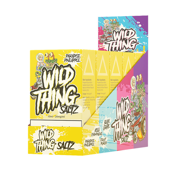 Wild Thing Saltz Paradise Pineapple Nicotine Salt E-Liquid