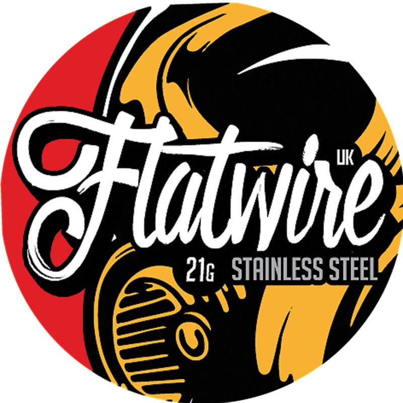 Flatwire UK Stainless Steel 316L Wire 21AWG