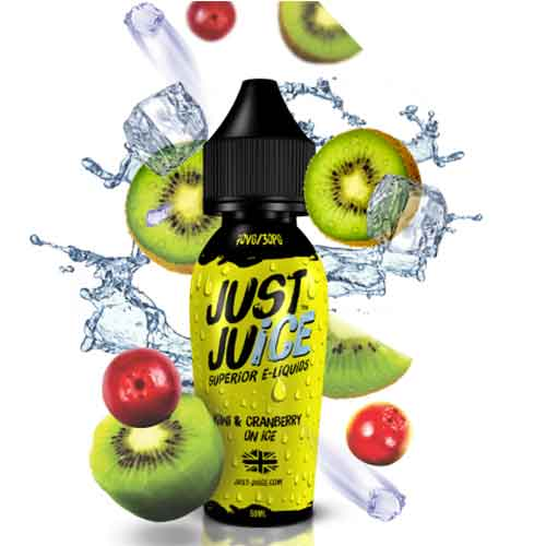 Just Juice Kiwi & Cranberry On Ice E Liquid