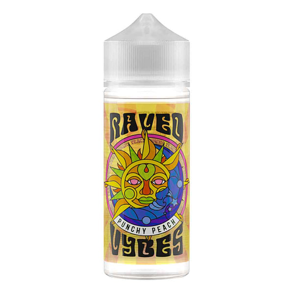Vybes Raved Punchy Peach 100ml Shortfill Eliquid