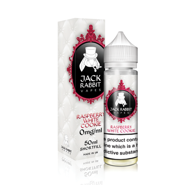 Jack Rabbit Raspberry White Cookie E Liquid