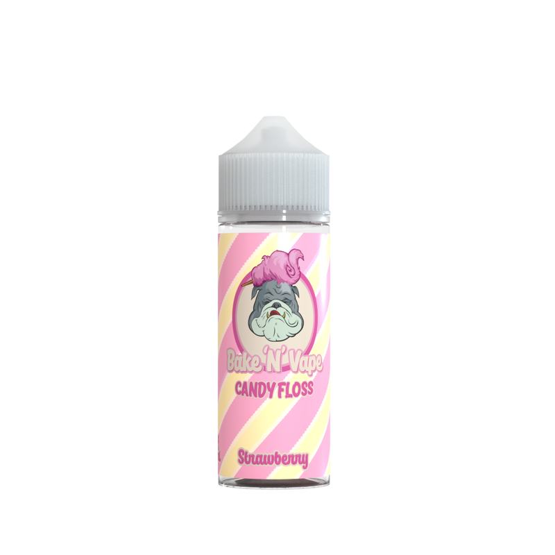 Bake N Vape Strawberry Candy Floss E Liquid