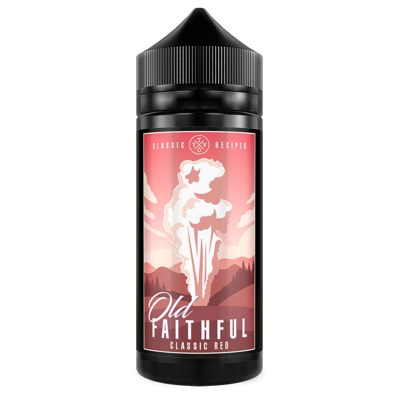 Old Faithful Classic Red E Liquid