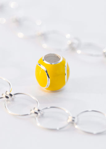Pandora compatible Yellow Tennis Ball