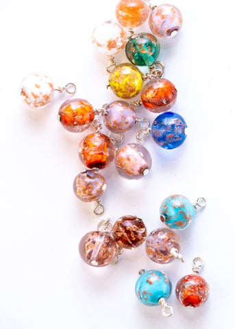 Murano Hand Blown Glass Bead