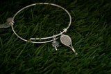 Racket & Palm Tree Bracelet